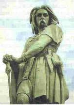 مجسمه یک سرباز فرانک