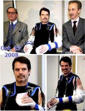 دکترکریستوف در سمت راست و دکتر ادگار در سمت چپ