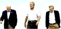 چه كساني سياست خارجي دولت جورج بوش را برنامه ريزي مي كنند
