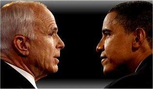 اوباما برنده - مکین بازنده