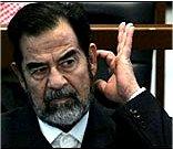صدام در دادگاه