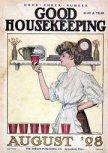 پشت جلد «خانه داری خوب» در اوت 1908