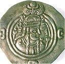 تصویر پوراندخت بر سکه اش