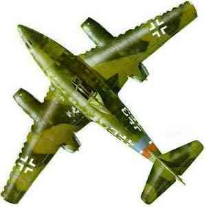 جت جنگده آلمانی « ام . ای ــ 262 » که در 1944 ساخته شد