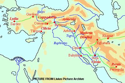 جاده های شاهی, راه در ایران باستان