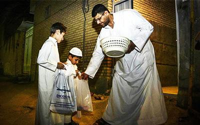 آئین و مراسم ماه رمضان, اجرای مراسم گرگیعان