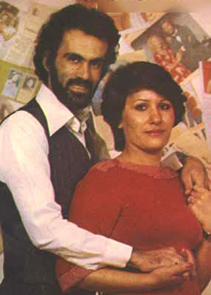 عکس های حبیب, عکس حبیب و همسرش