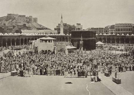 عکسبرداری از مراسم حج,قدیمیترین عکسها از برگزاری حج