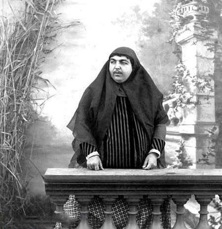 زنان قاجاری چاق و فربه,زینت های زنان قاجار