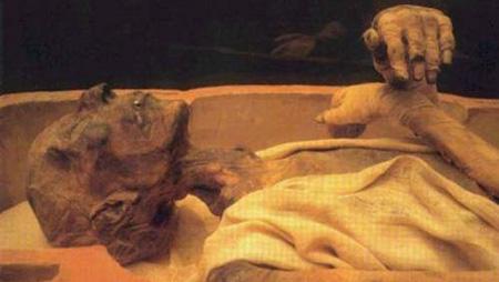 مومیایی فرعون,عکس مومیایی فرعون
