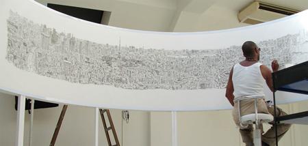 استفان ویلتشایر, نقاشی های استفان ویلتشایر