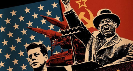 جنگ سرد,جنگ سرد چگونه اتفاق افتاد,کشیده شدن جنگ سرد به فضا