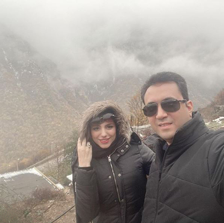 مجتبی کشاورز و همسرش, همسر مجتبی کشاورز