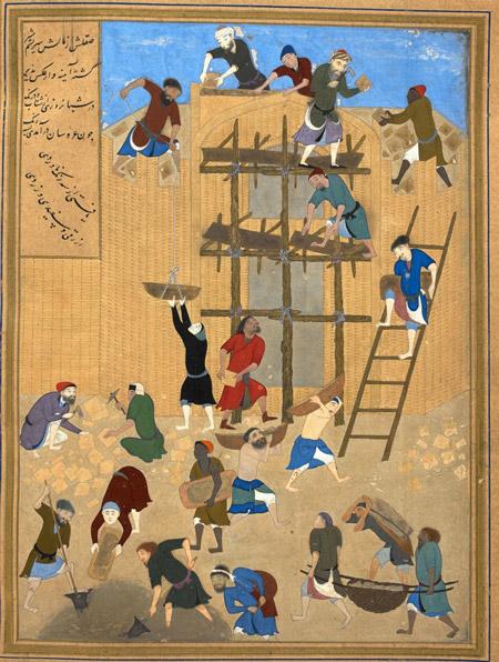 کمالالدین بهزاد,بیوگرافی کمالالدین بهزاد,آثار کمال الدین بهزاد نقاش مینیاتوریست ایرانی
