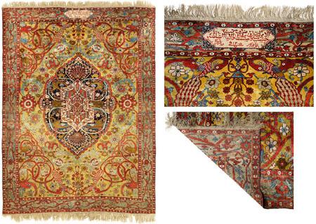 فرش در دوره قاجار,فرش و فرشبافی در دوران قاجاریه,فرش در دوران قاجار