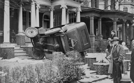 عکس تصادف, تصادف ماشین
