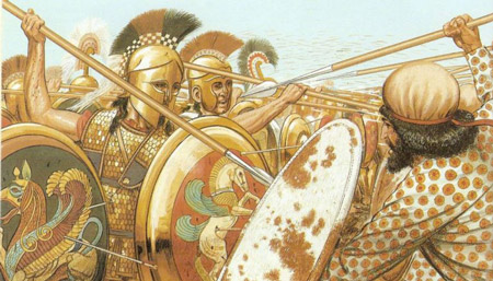نبرد ماراتن ,واقعیت های نبرد ماراتن,جنگ ماراتن نبرد داریوش اول با یونانیان