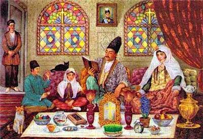 مراسم نوروز در بین زرتشتیان یزد, آداب و رسوم نوروز