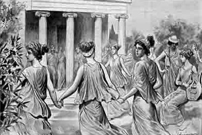 تمدن یونان باستان,رقص در یونان باستان