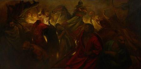 حسن روح الأمین,حسن روح الأمین نقاش ایرانی ,آثار حسن روح الأمین