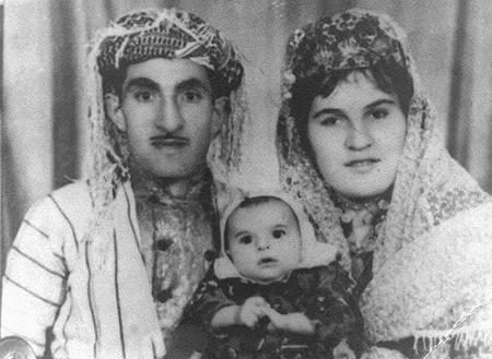 حسن زیرک و همسرش