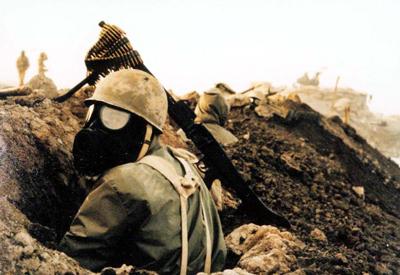 جنگ افزار های شیمیایی در سوریه, ارتش ایران