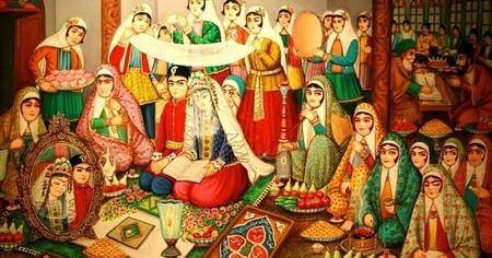 برگزاری عقد کنان در شهرهای مختلف ایران, رسم و رسوم مراسم عقد کنان