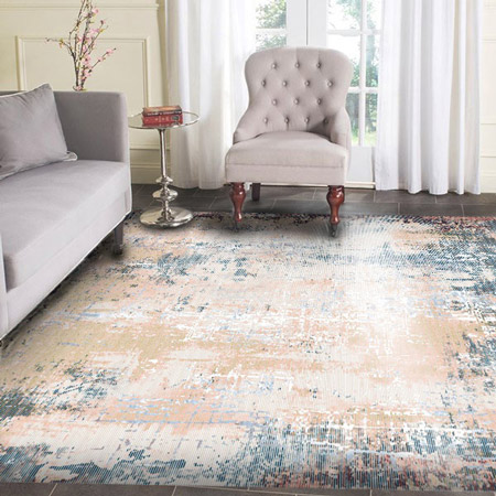 فرش سبک مدرن,فرش سبک مدرن چیست,خصوصیت های فرش های مدرن