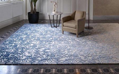 فرش سبک مدرن,فرش سبک مدرن چیست,انواع جدید فرش مدرن