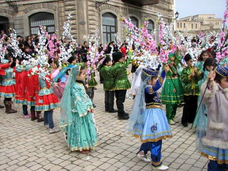 آداب و رسوم نوروز, عید نوروز در باکو