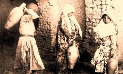 دوران ساسانيان, اولین لوله کشي آب