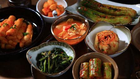 غذاهای سنتی کره ای,خوشمزه ترین غذاهای کره جنوبی,غذای کره ای لذیذ و خوشمزه