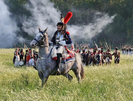 تاریخچه نبرد واترلو, ناپلئون بناپارت, نبرد واترلو
