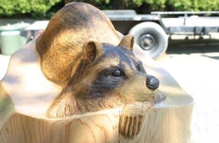 انواع مجسمه های چوبی, مجسمه های چوبی تایلندی