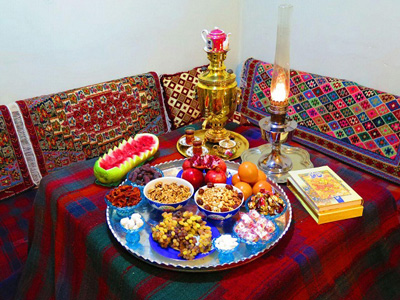 رسوم شب یلدا در یزد, رسوم شب یلدا
