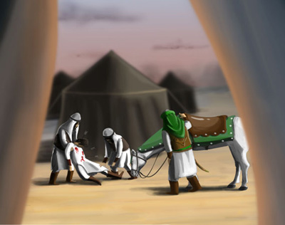 اشعار شهادت طفلان حضرت زینب, طفلان حضرت زینب