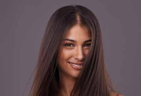 موهای صاف بیشتر گره میخورند
