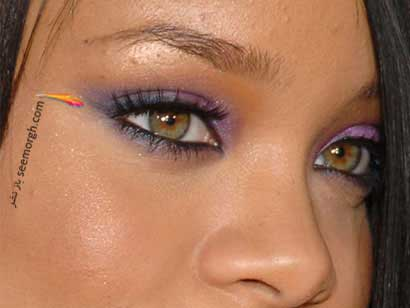 مدل زیبا برای آرایش چشم