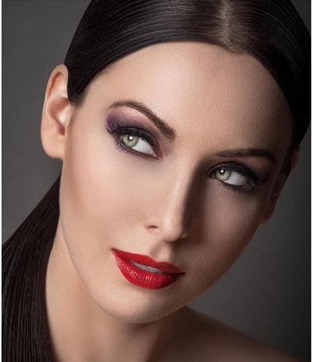 مدل آرایش صورت 2013