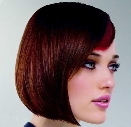 رنگ مو لمه زیباترین رنگ موی زنانه