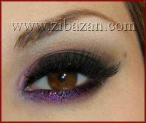 آرایش حرفه ای چشم,آرایش چشم,مدل های آرایش چشم