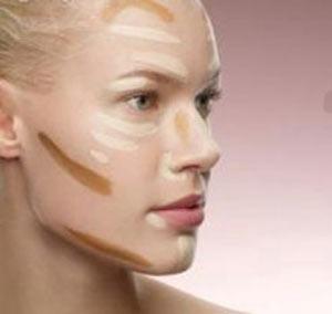 کرم پودر, اصلیترین مواد آرایشی