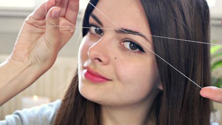 بند انداختن صورت ,بند انداختن صورت بدون نیاز به دیگران,اصلاح صورت