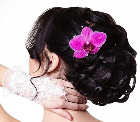 عکس مدل موی عروس