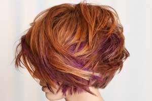 رنگ های لای,هایلایت , رنگ مو,رنگ مو مناسب