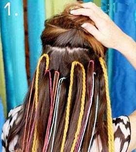 تزیین موها,اسپری مو,رنگ کردن مو