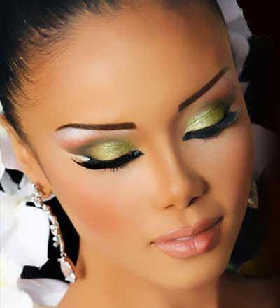 عکس آرایش چشم دخترونه