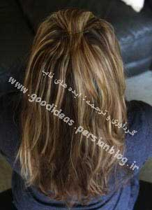 موهای زیبا مو فرفری فر کردن مو زیبا آموزش فر کردن مو آرایشگاه زنانه
