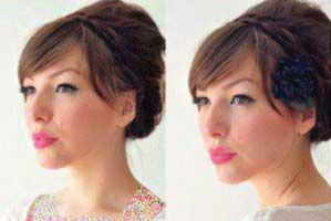 مدل موی جمع ,آموزش تصویری یک مدل مو