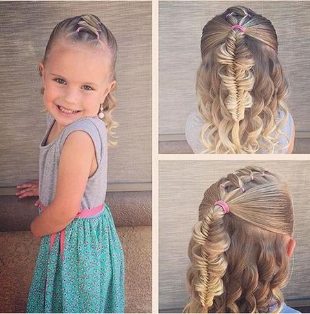 مدل موهای بسیار زیبا برای دختر خانوم های کوچولو | hair model